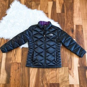 Womens XS Girls 14/16 The NORTH FACE puffer jacket